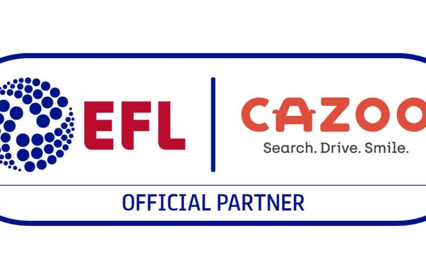 CAZOO Signs Multi-year Partnership Deal With The EFL