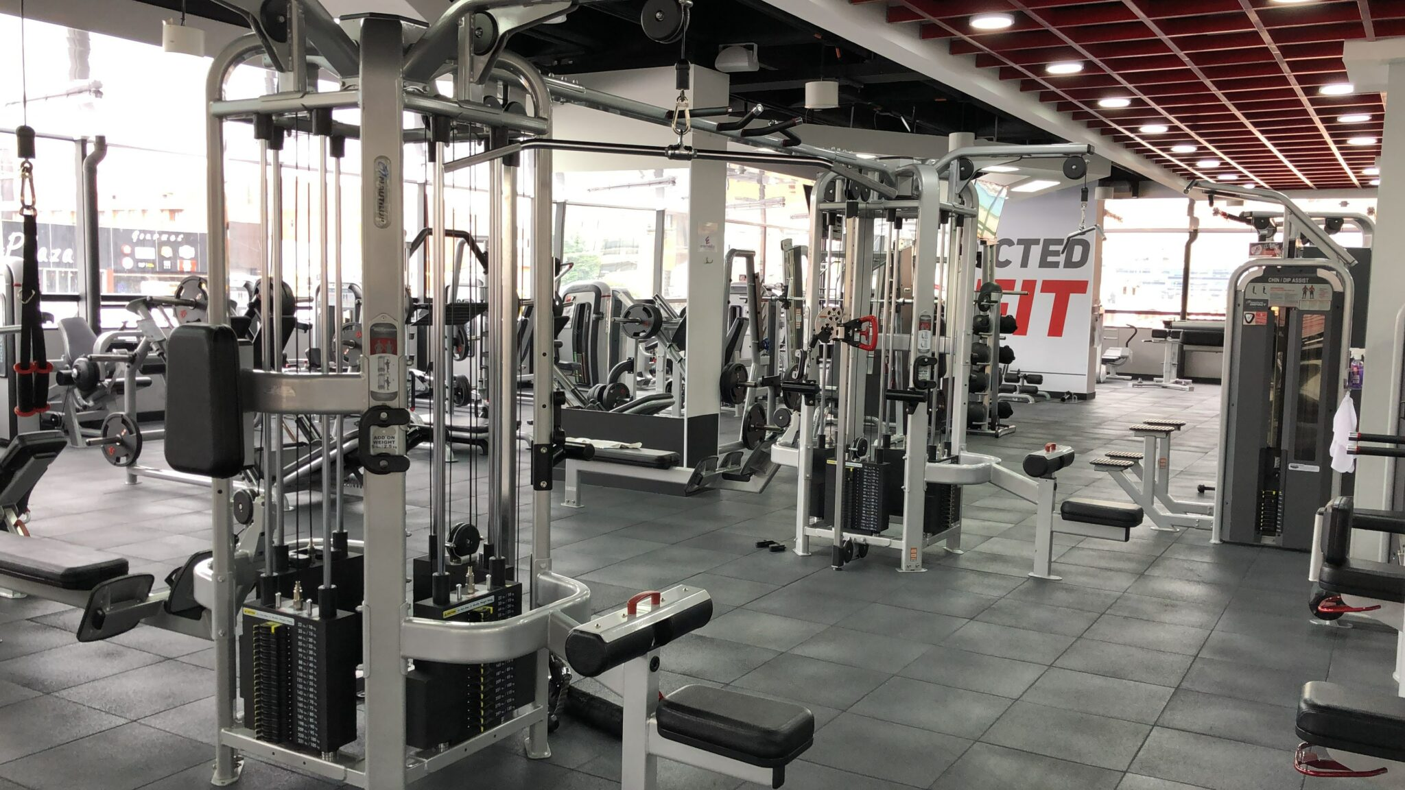 empty gyms