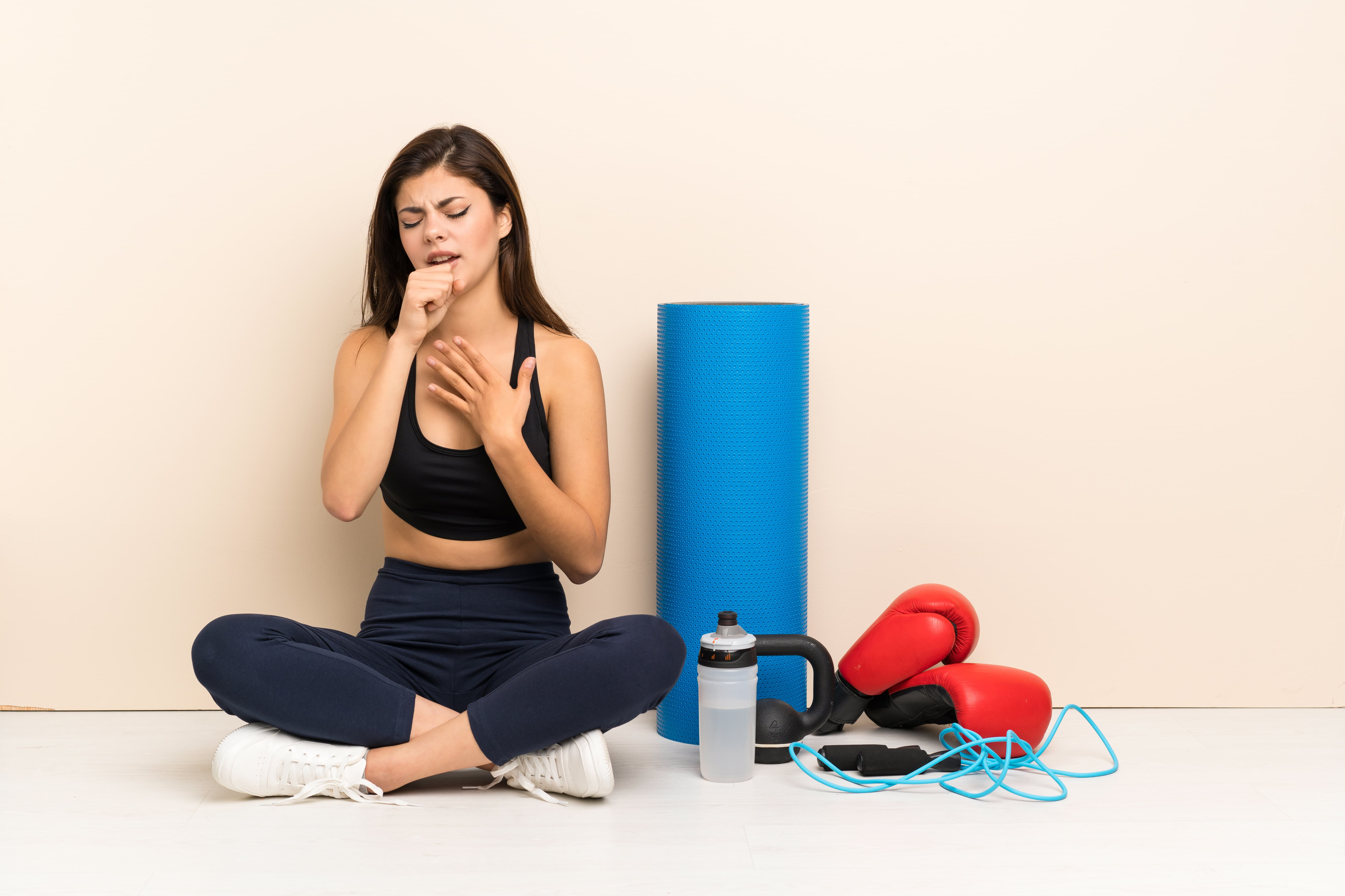 hay fever stopping workout