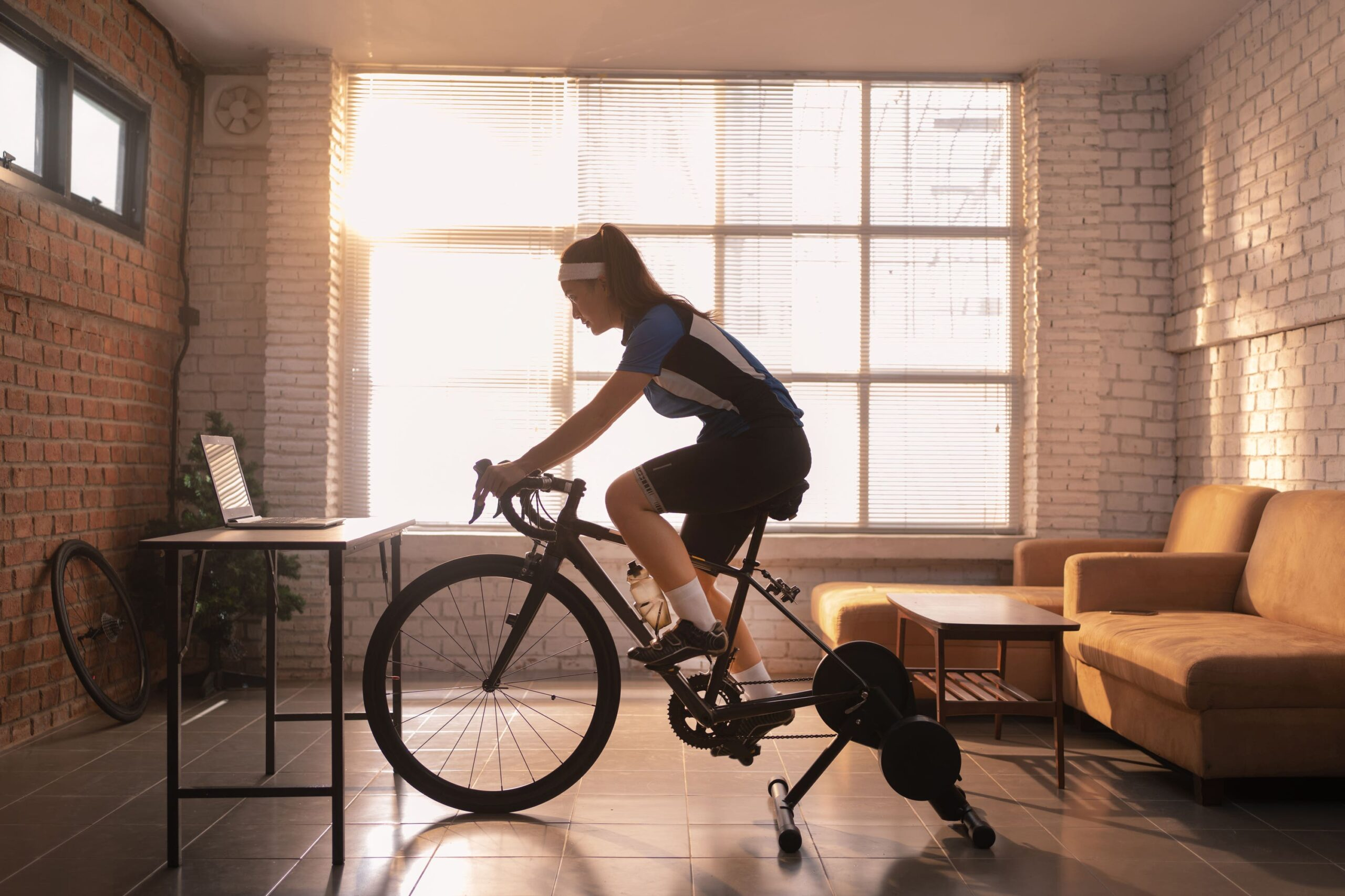 home exercise bike scaled
