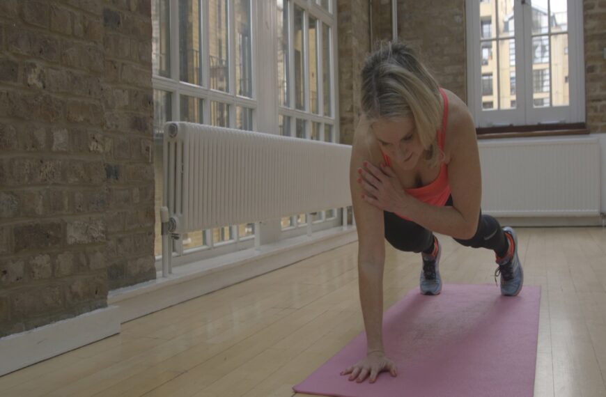 The At-Home Workout To Help Enhance Your Immune System