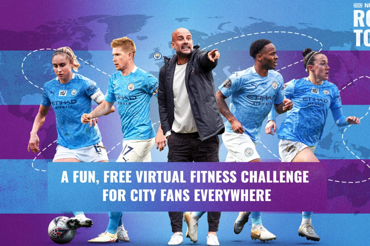 Manchester City Launch NEW Virtual Fitness Challenge!