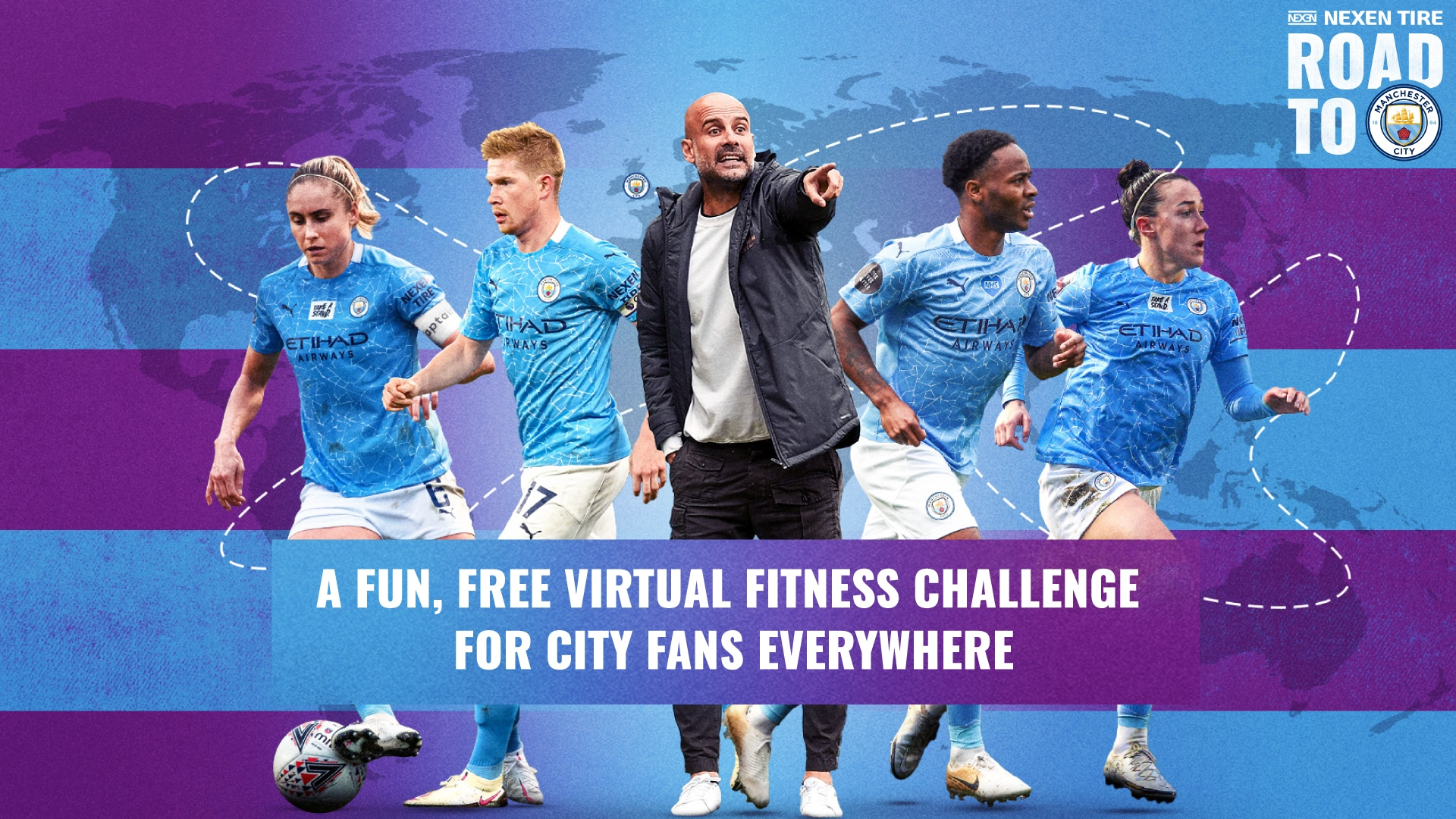 manchester city fitness challenge
