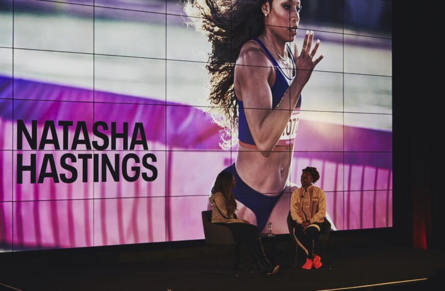 Natasha Hastings, The Right Mindset Makes All The Difference