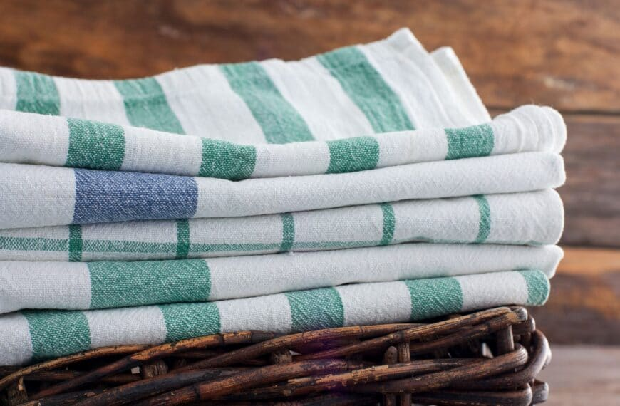 Why The Humble Tea Towel Is Your Best New Workout Accessory