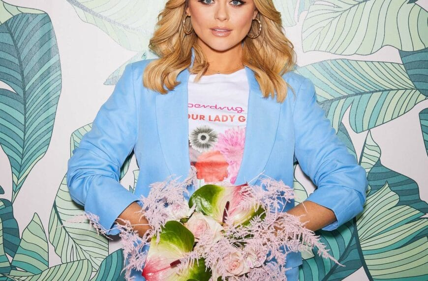 Emily Atack Helps Launch New Initiative With The 'love Your Lady Garden' Campaign