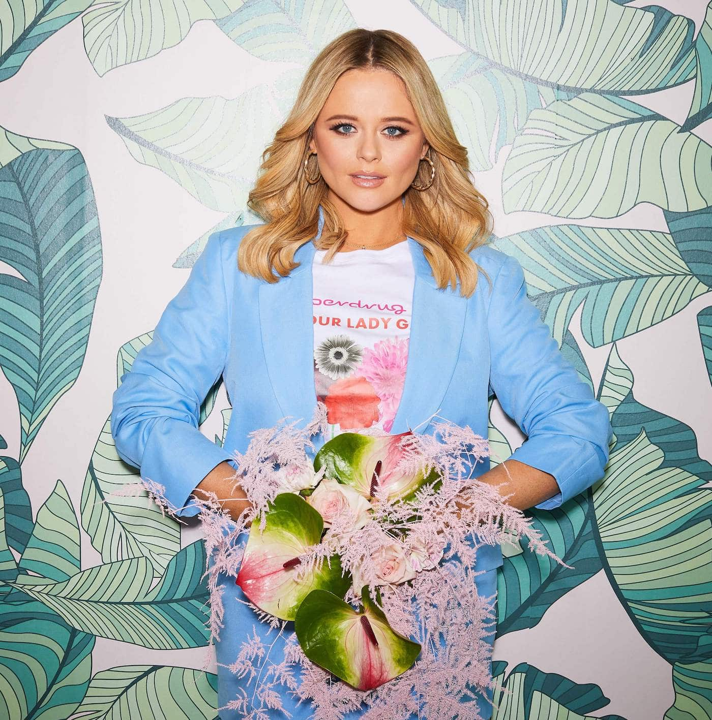 Emily Atack Superdrug 'love Your Lady Garden Campaign 2