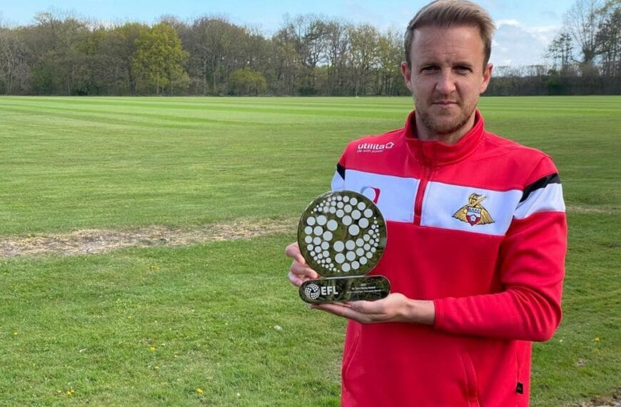 EFL Awards 2021 – James Coppinger To Be Presented With Sir Tom Finney Award