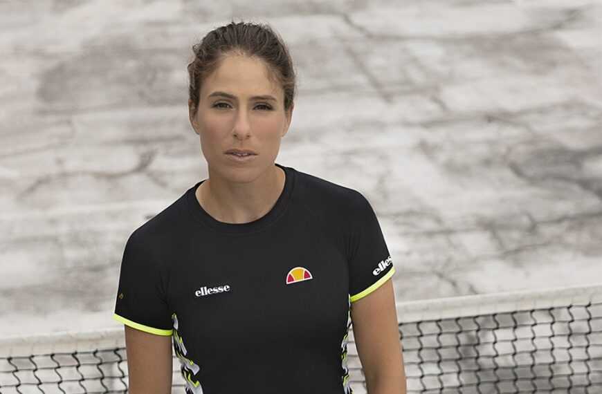Johanna Konta Talks To Sustain Health About What It's Like To Serve In Front Of Millions