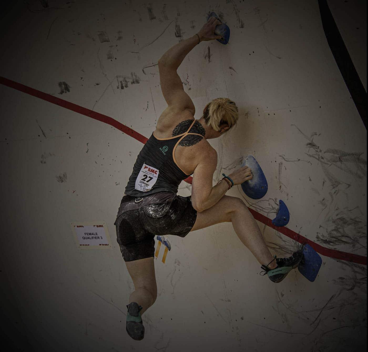 Team GB Olympic Climbers