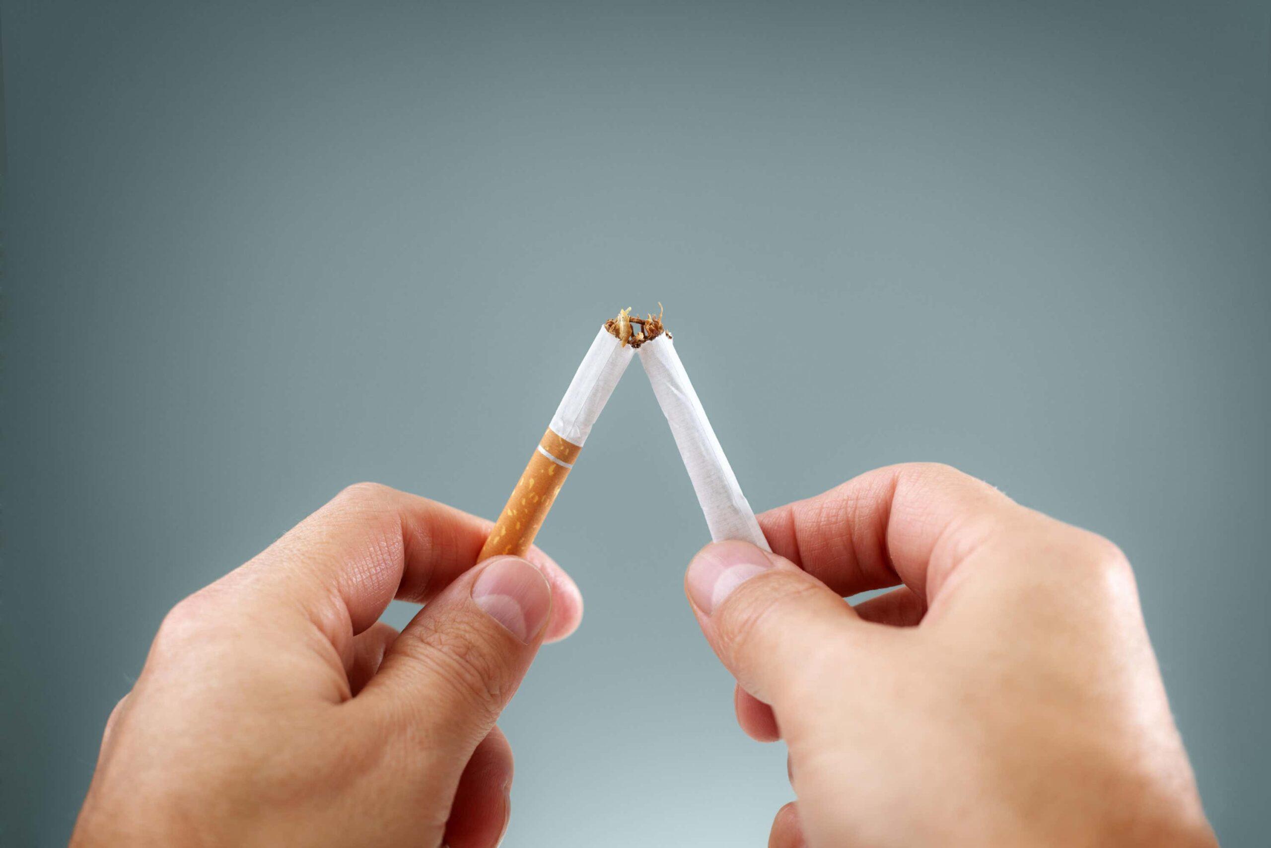 Desperate For A Cigarette