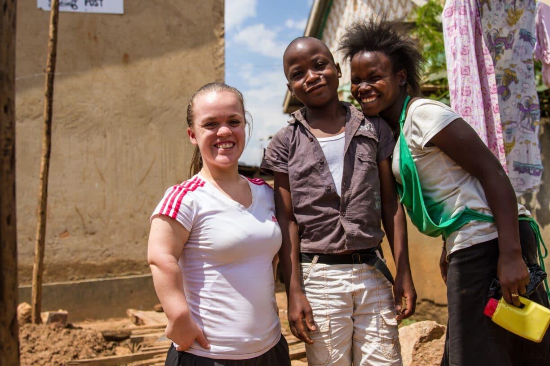 ellie simmonds visiting uganda