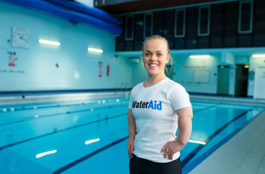 Ellie Simmonds Invites Swimmers To Take The Plunge With A Challenge For Wateraid After Indoor Pools Reopen