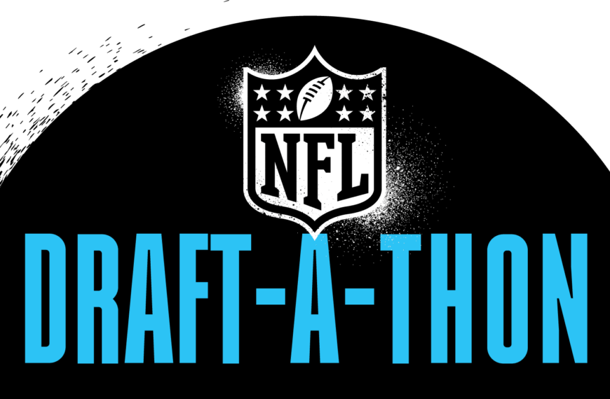 2021 NFL Draft-a-Thon To Raise Awareness To Help Those Significantly Impacted By The Covid-19 Pandemic