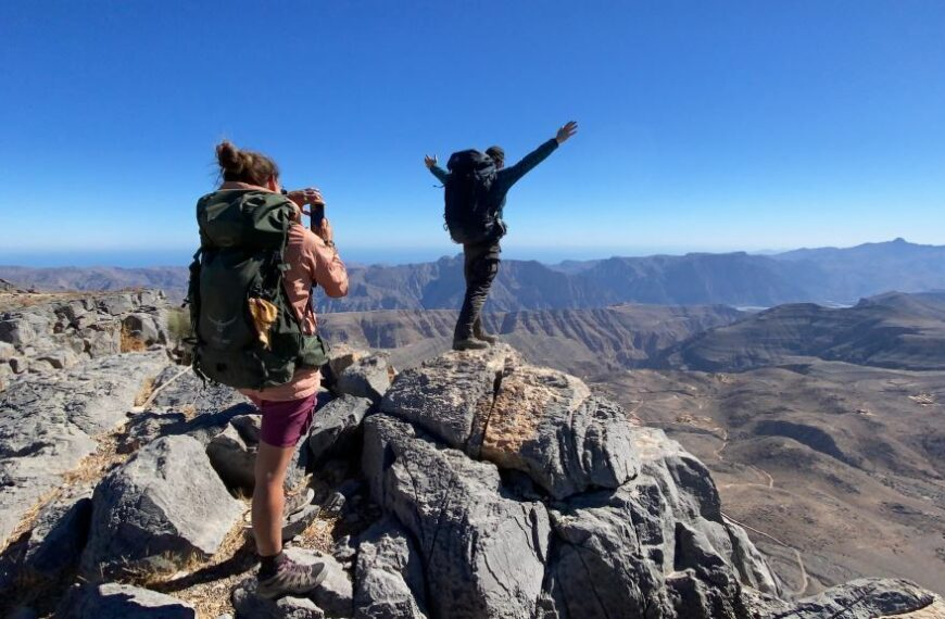 Highlander Announce Sustainable Hiking Trail – First-ever In The Gulf