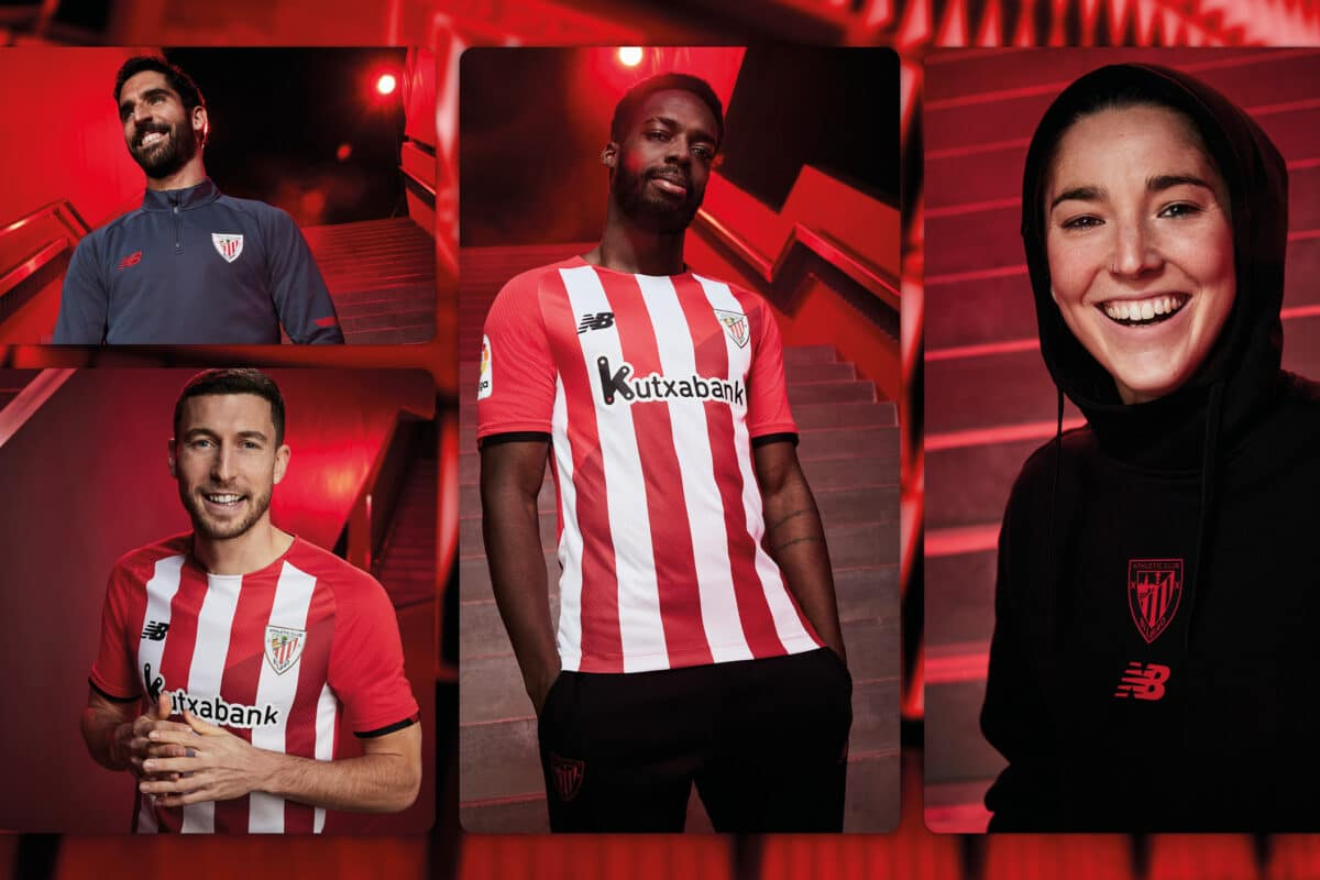 2021/22 Athletic Club Bilbao Home Kit Unveiled By New Balance