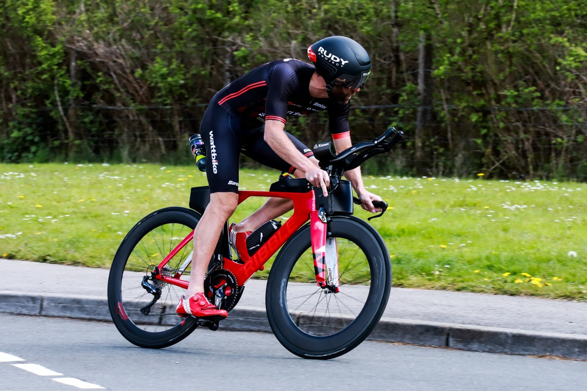 Adam Bowden TT bike