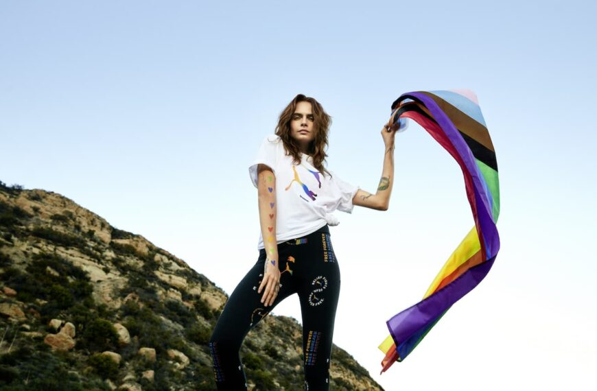Cara Delevingne Celebrates Pride Month 2021 With New Collection