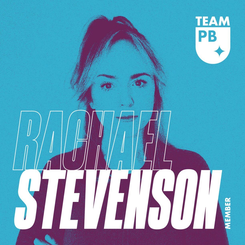DL TeamPB Social 1080x1080px Member RachaelStevenson Blue