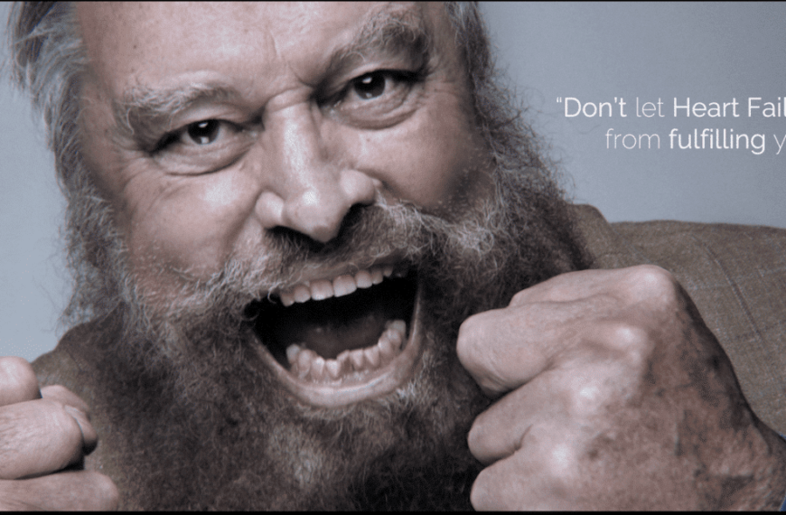 Brian Blessed Gives Impassioned Plea For Support Of 'Freedom From Failure – The F Word' In His New Video