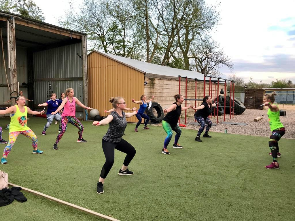 Nantwich Clubbercise Outdoors 3