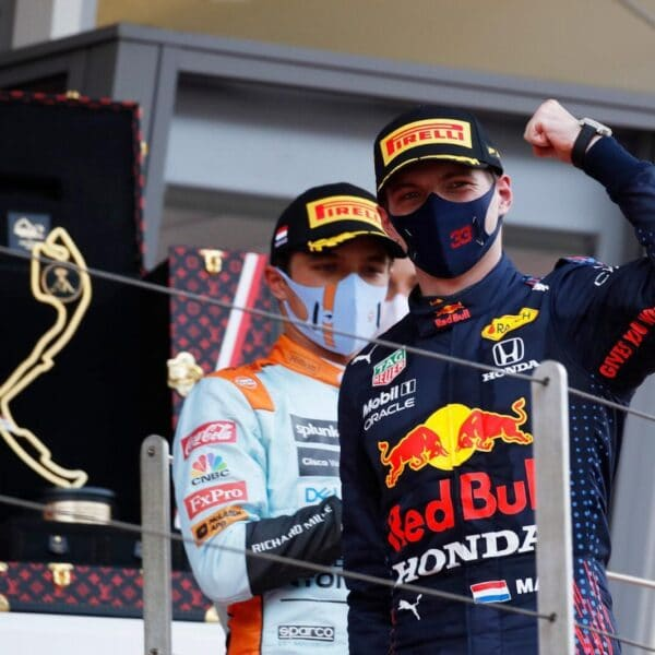 Tag Heuer's Monaco Titan As Max Verstappen's Lucky Charm