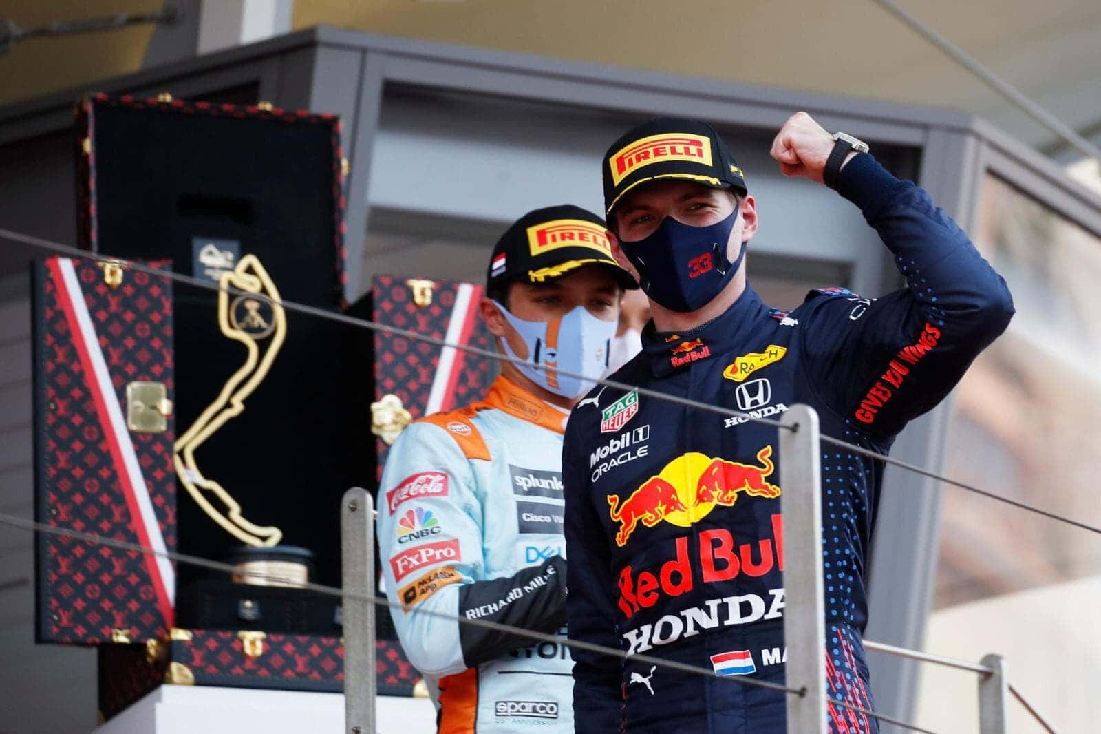 Tag Heuer Max Verstappen's Lucky Charm