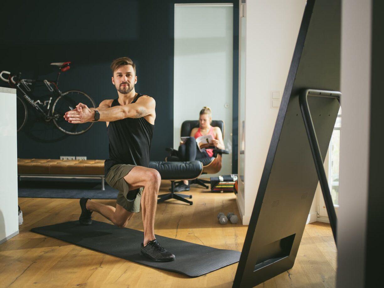 Interactive Fitness Mirror