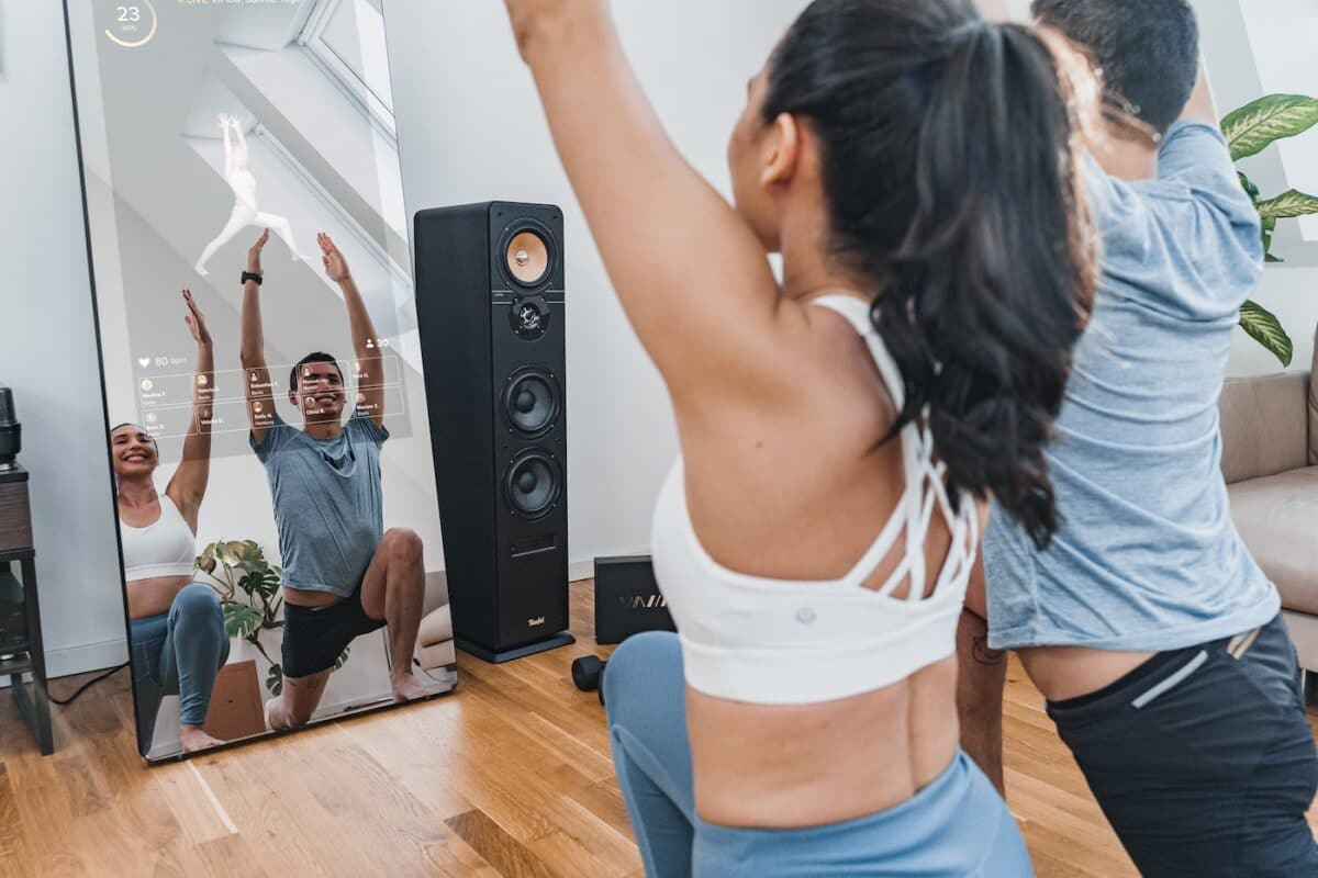 UK's First Interactive Fitness Mirror Set To Take Your Home Workout To The Next Level