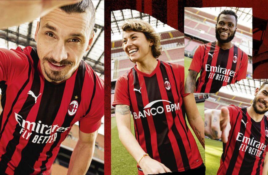 Puma & AC Milan Unveil New Home Kit For 2021/22 Season