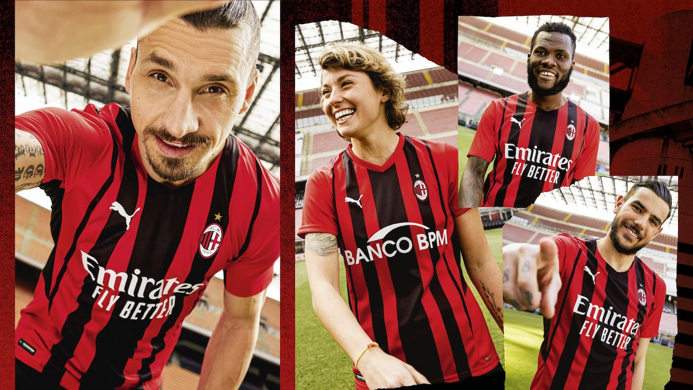 AC Milan Home Kit 2021/22