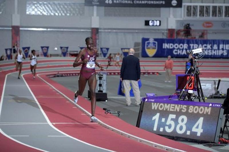 Athing Mu's World U20 Indoor 800m Record Ratified