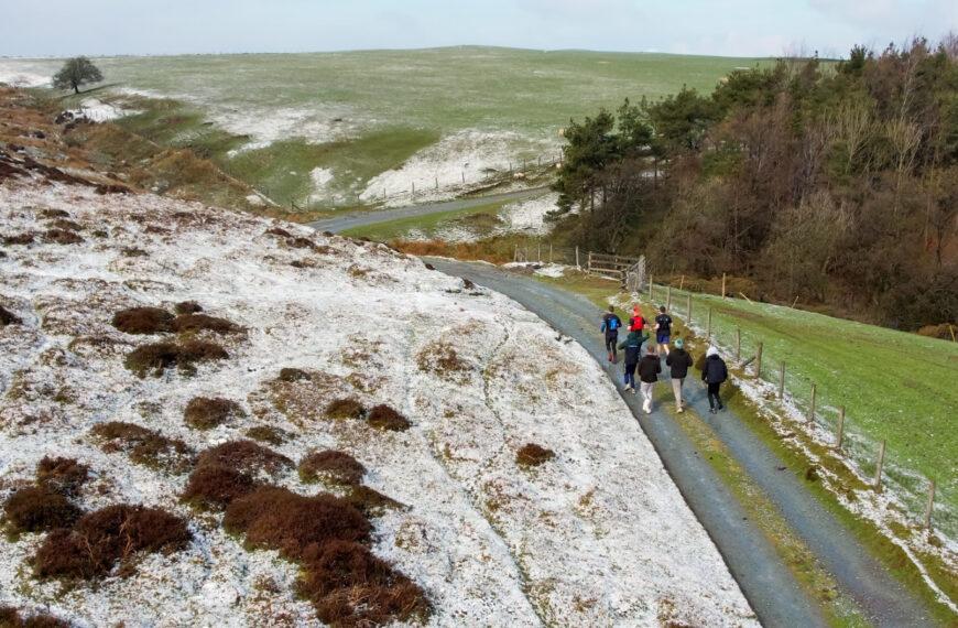 Team Marathon Across Shropshire Peaks Raises Funds For Testicular Cancer Awareness Month 2021