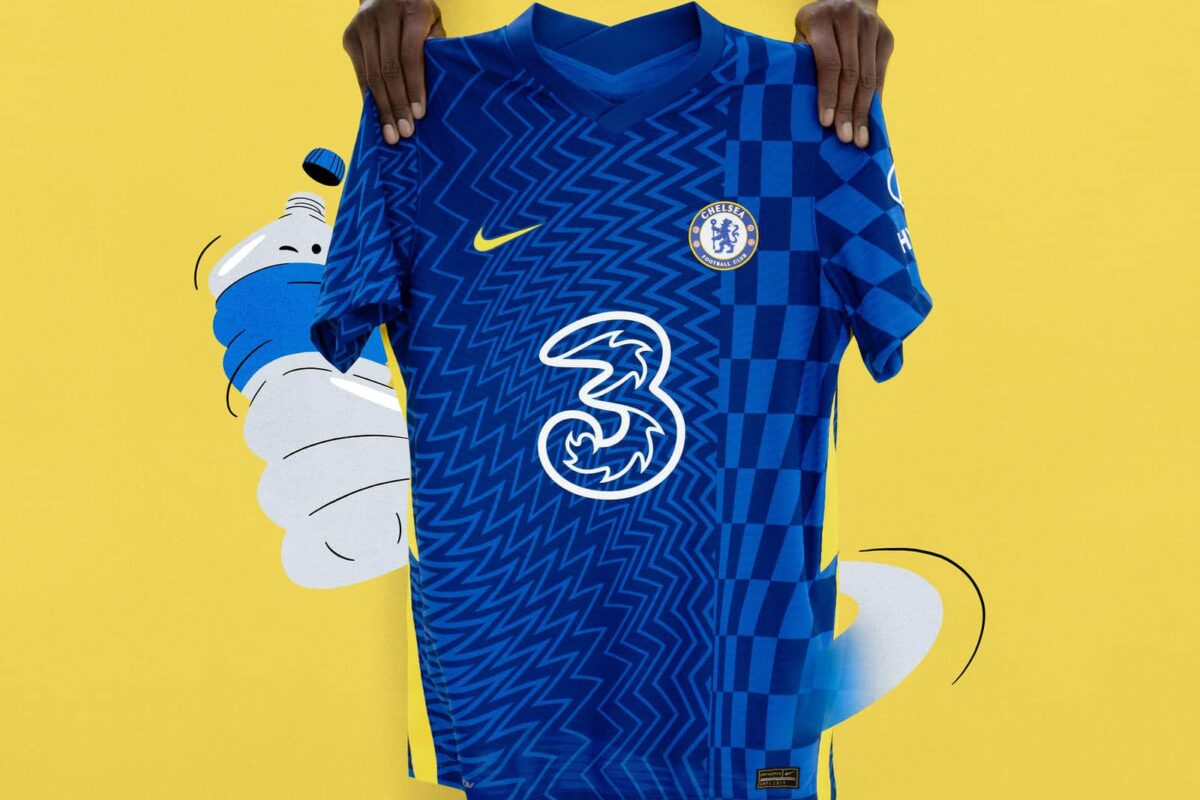 Chelsea's New 2021-22 Home Kit Wave Arrives in a Bold Design