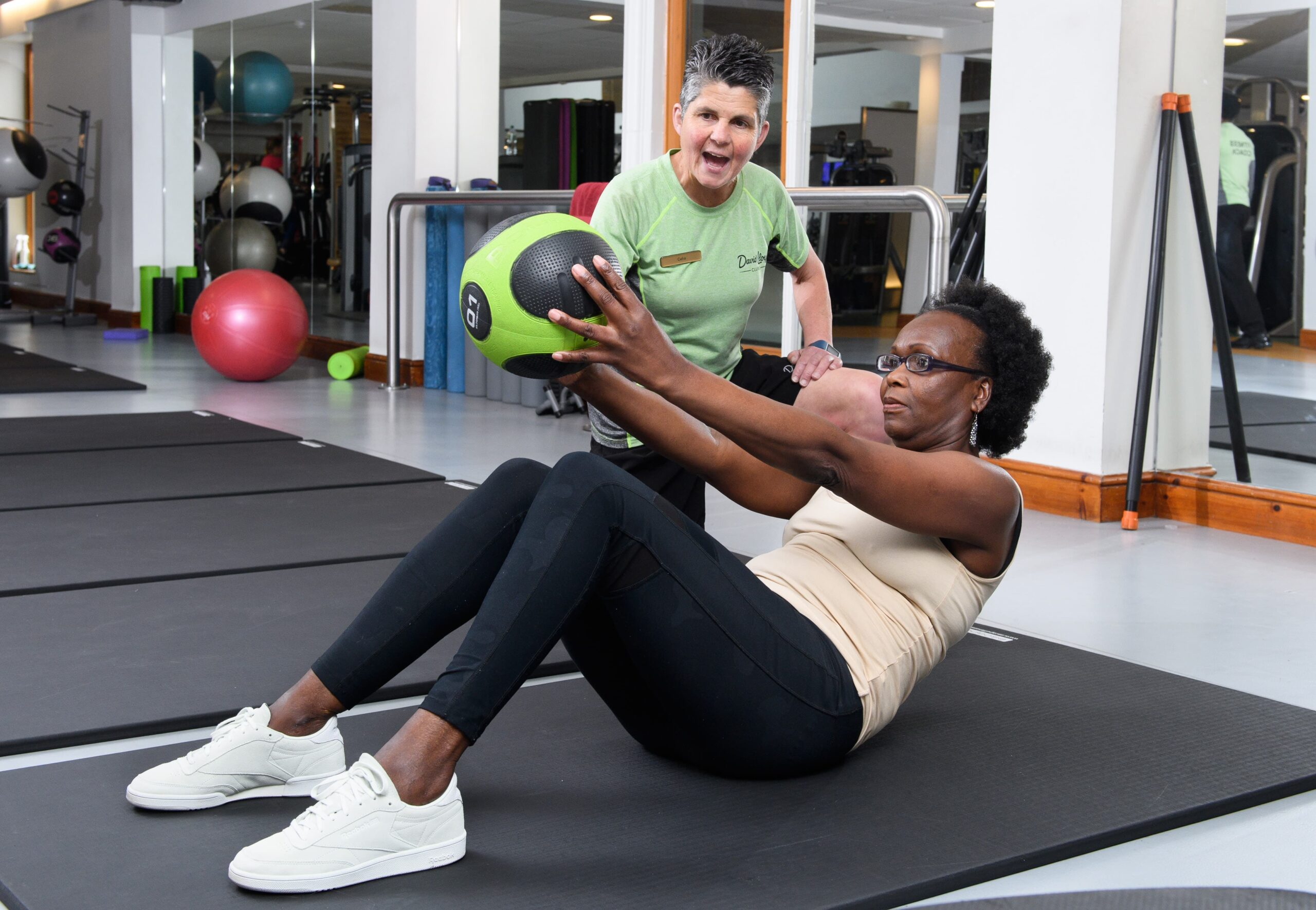 david lloyd search for older fitness trainers