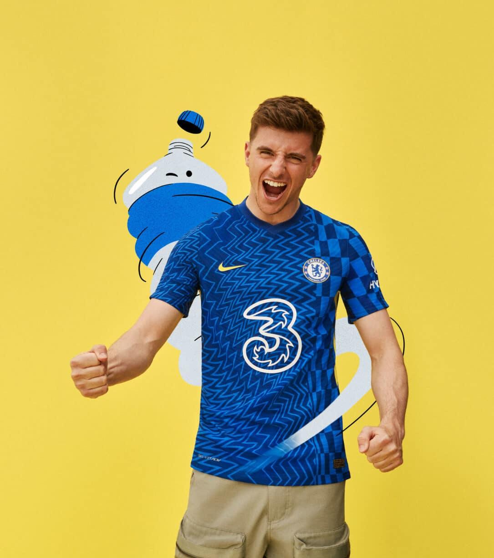 Chelsea's New 2021-22 Home Kit