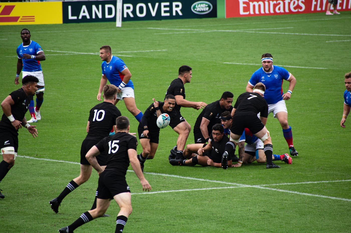 new zealand and france rugby game in tokyo 2019