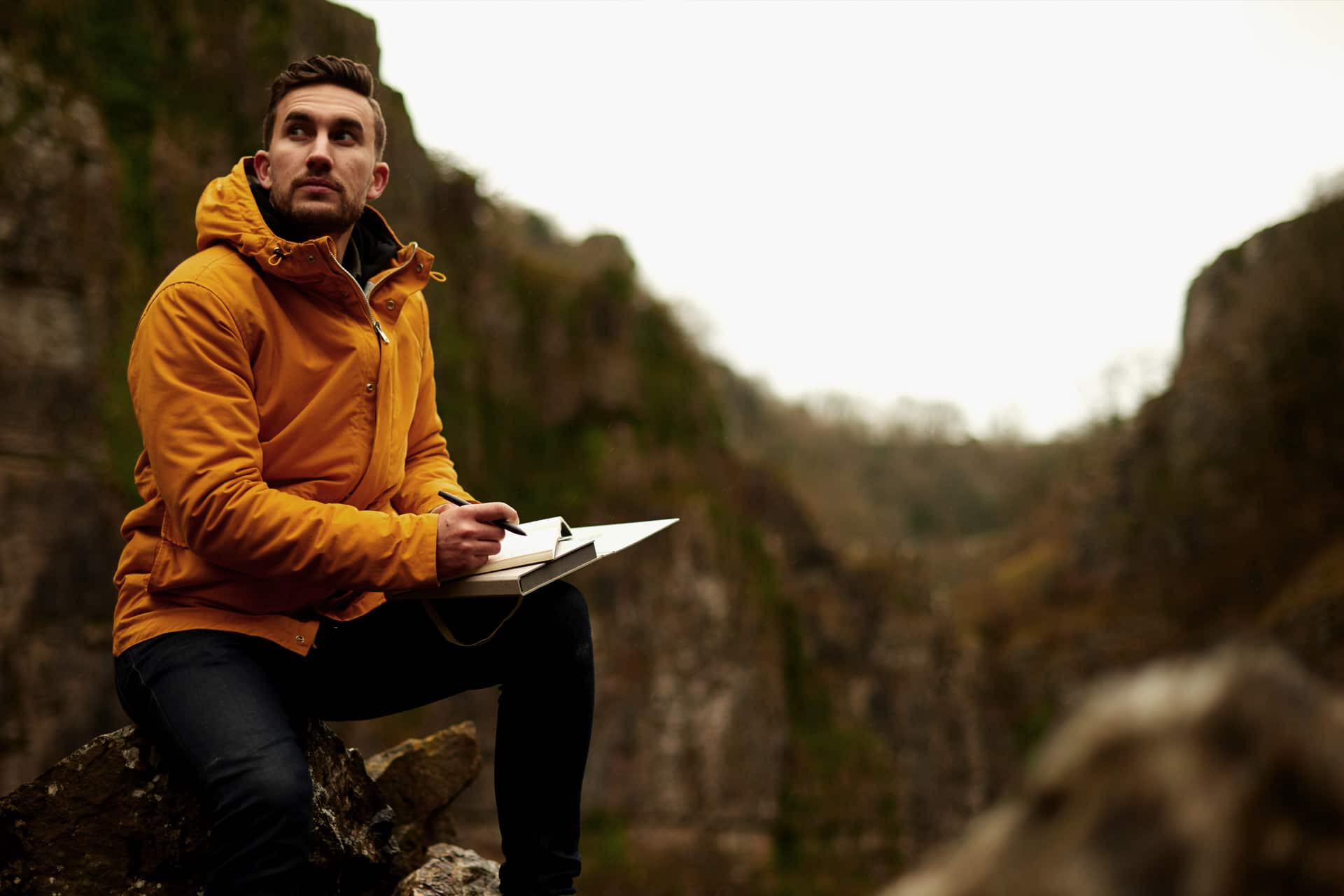 Could Keeping A Journal Improve Men's Mental Health?