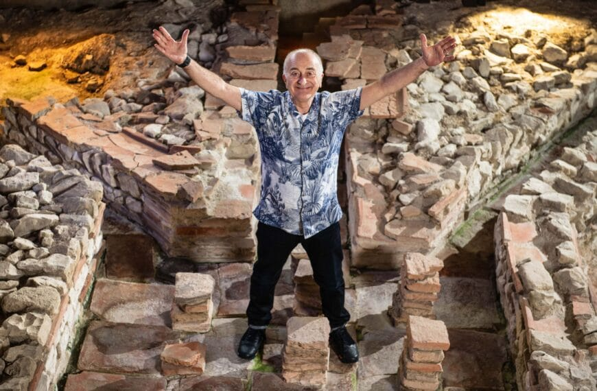 Tony Robinson On Getting Fit And Rediscovering The Joy Of Gardening