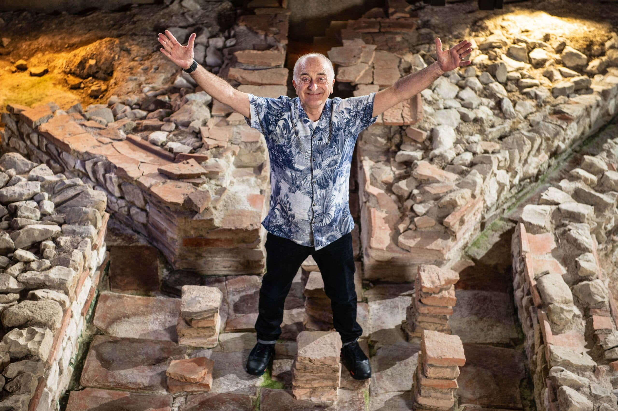 Tony Robinson On Getting Fit