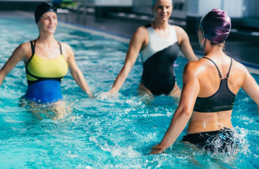 Fluid Running: The On-Demand Workout System That's Like A Peloton For The Pool