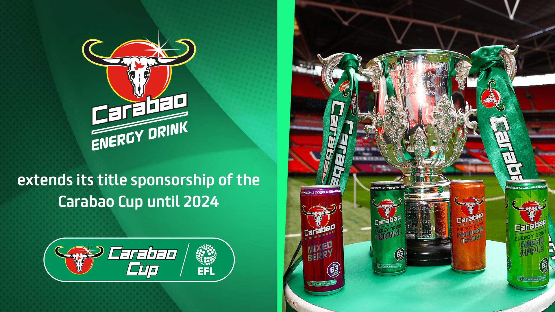 Carabao Extend Efl Cup Partnership