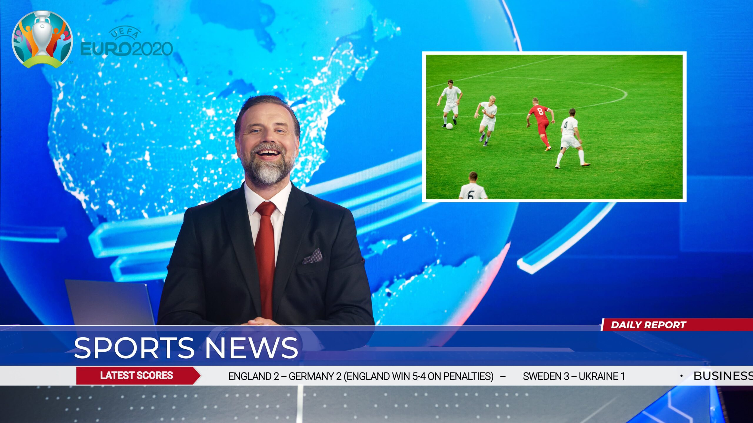 BBC Winning Battle Of The Euros