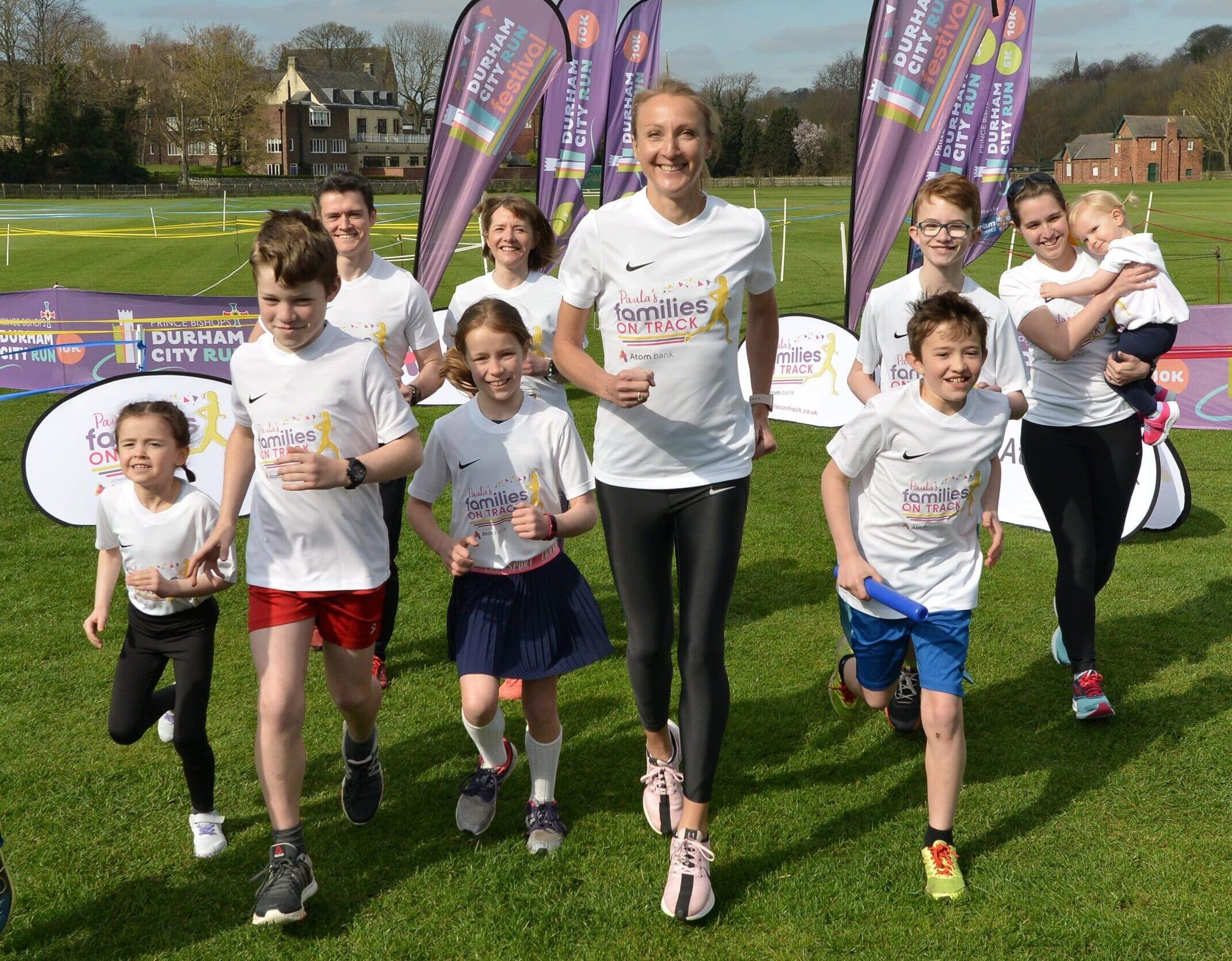 Paula Radcliffe To Get Kids Active