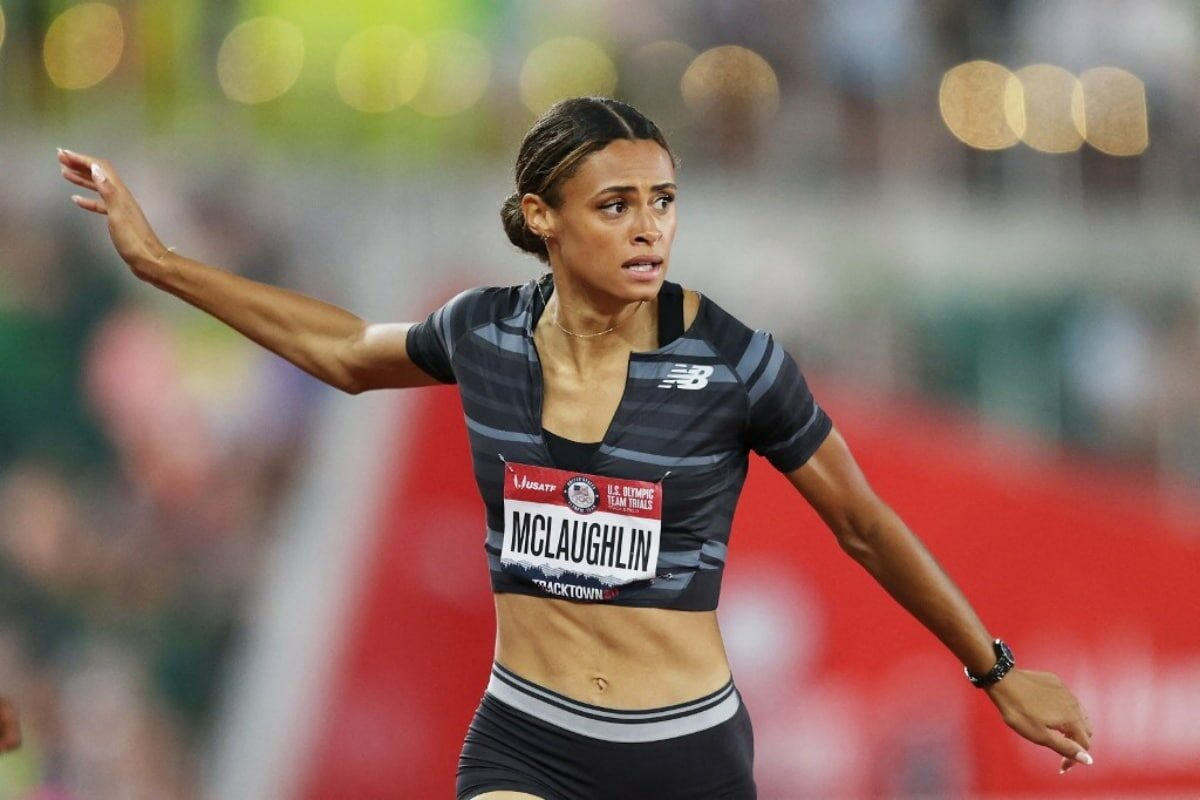 Sydney Mclaughlin Smashes World 400m Hurdles Record In Eugene With 51.90