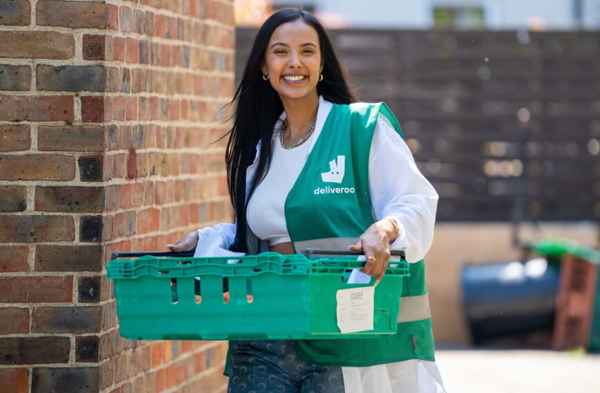 Maya Jama Surprises Young People In Hackney To Support Deliveroo's Full Life Campaign