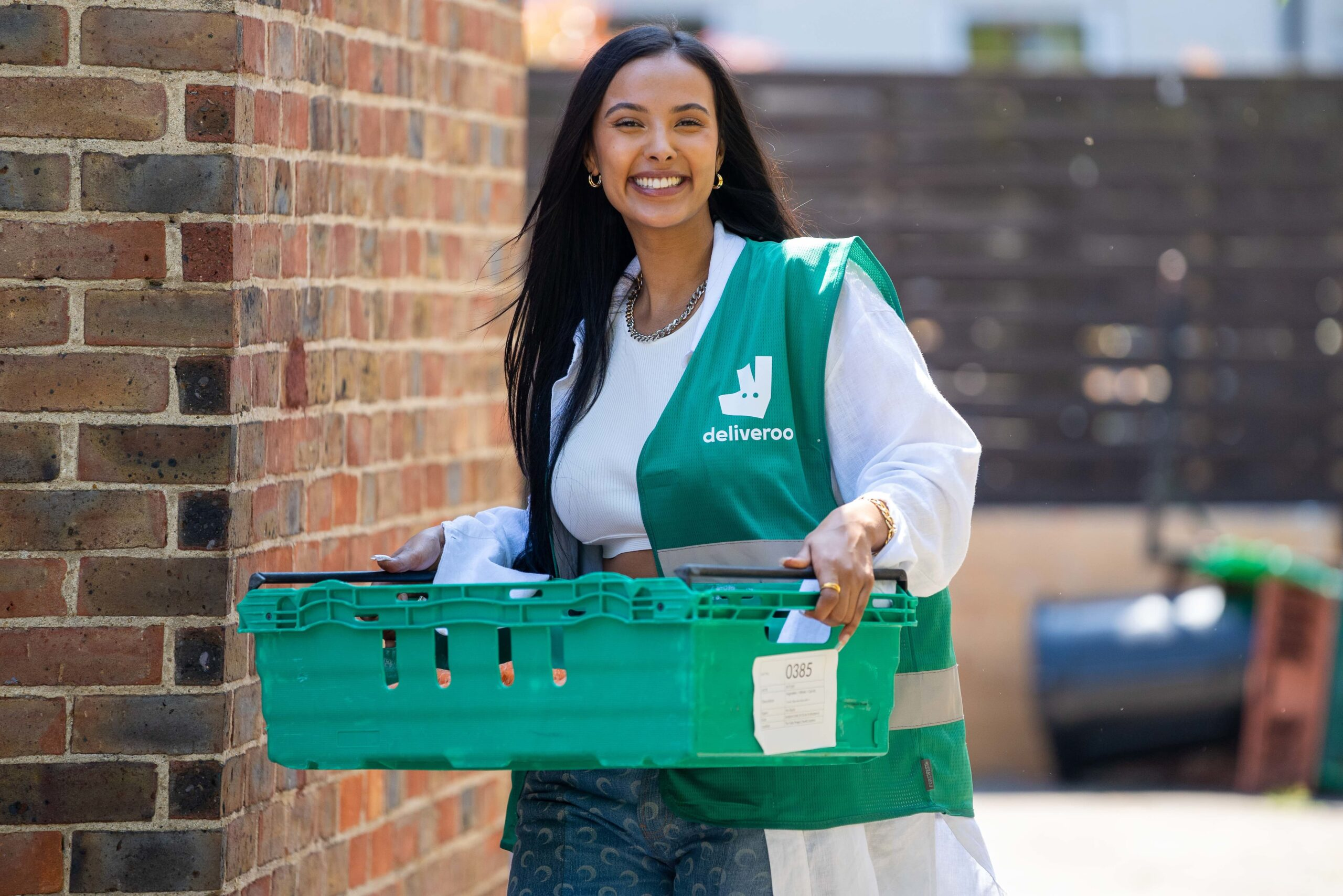 Maya Jama Surprises Young People In Hackney