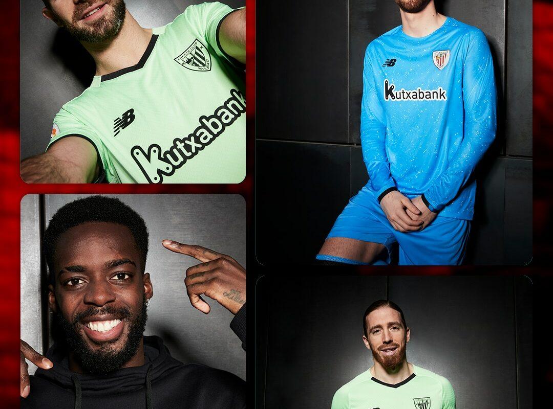 New Balance Introduce The New Athletic Club Bilbao 21/22 Away Kit