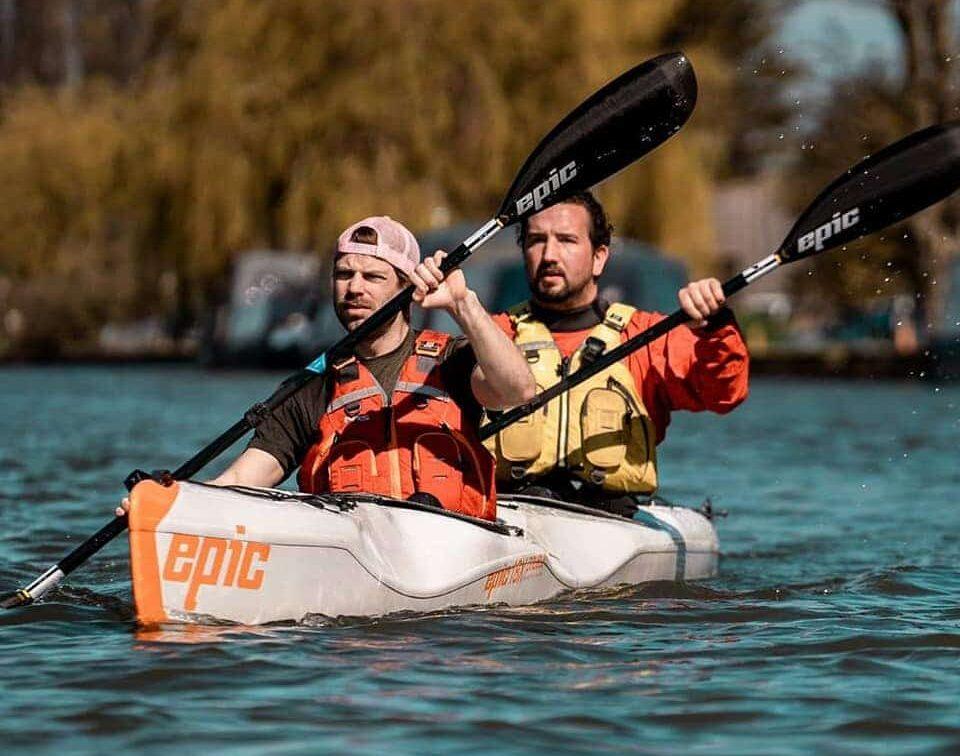 A World-First Kayak Journey Of 1,400km