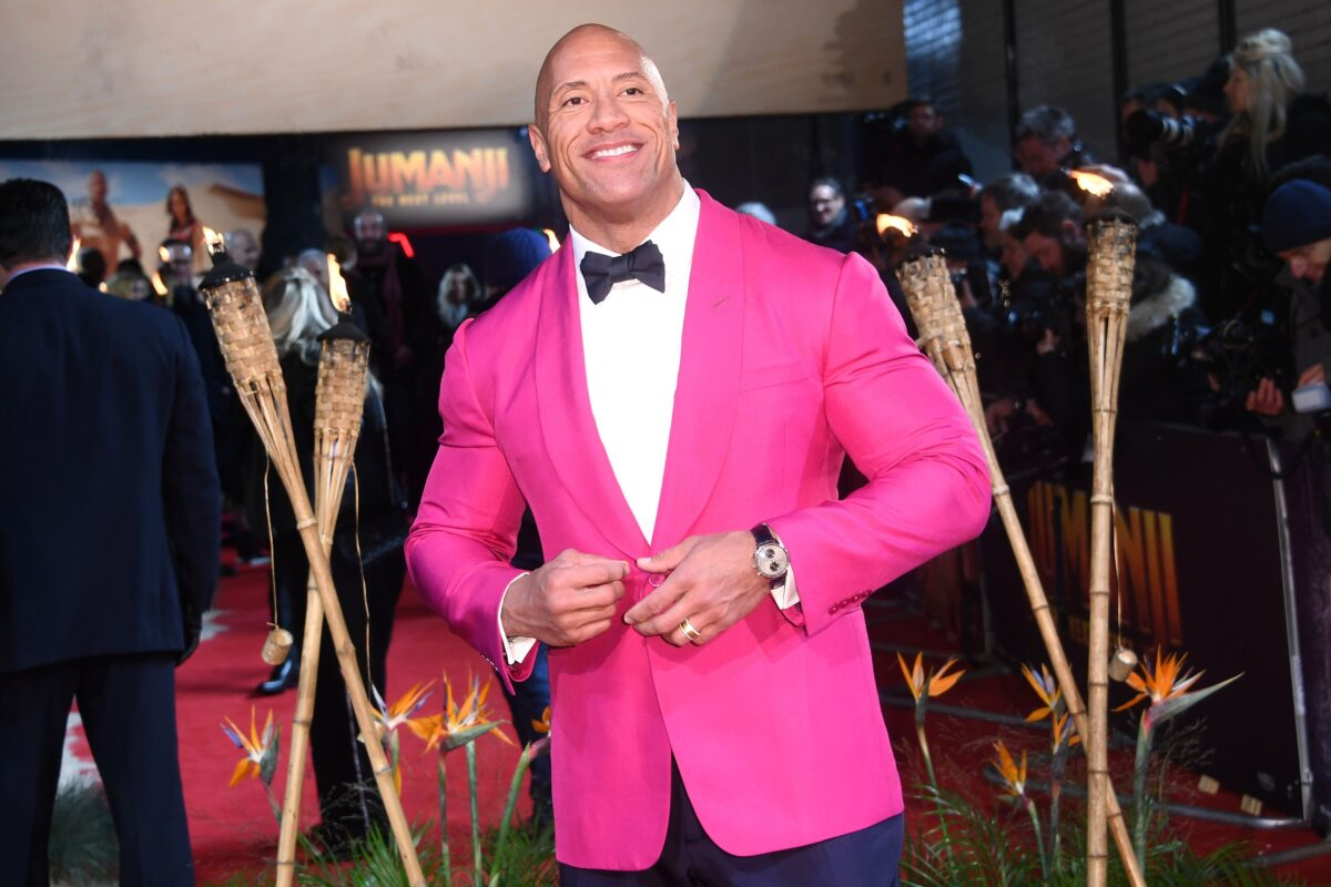 The Rock Goes Fishing To 'Decompress', But The Wellbeing Benefits Don't Stop There